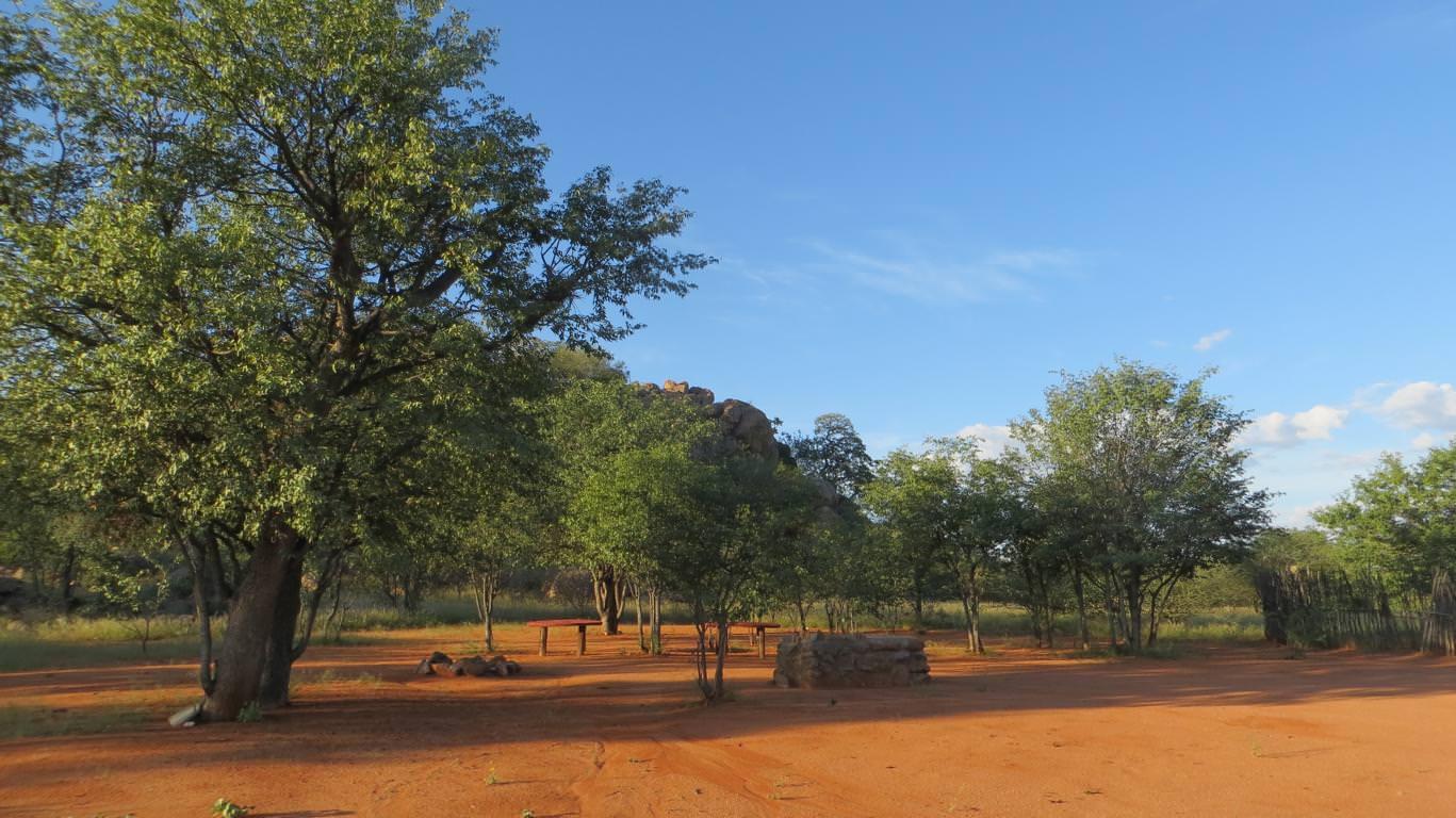 Zeltplatz - Porcupine Bush Camp