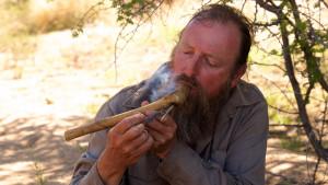 Werner Pfeifer - der weiße Buschmann auf Namibia-Expedition
