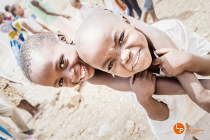 Kinder im Township Katutura