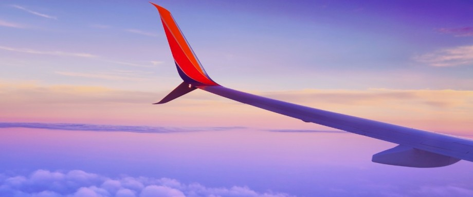 Flug nach Namibia