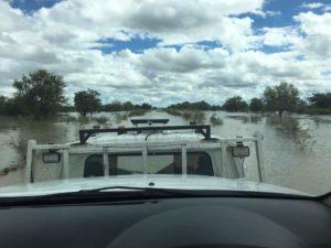4x4-Rücktransport aus Botswana