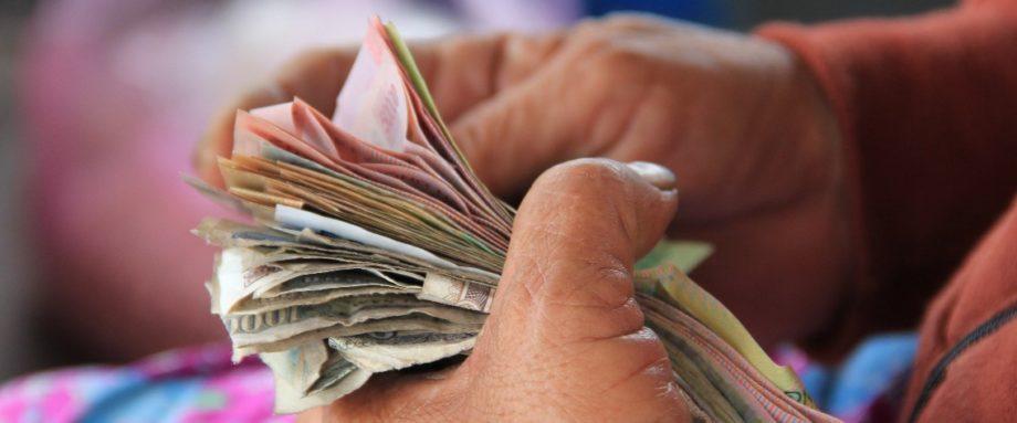 Bezahlen in Namibia - Bargeld