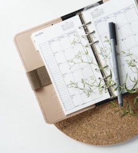 Ein Jahresplaner - perfekt für die Reisezeitplanung