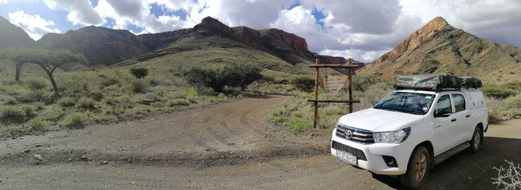 Mietwagen Namibia mit 2 Dachzelten